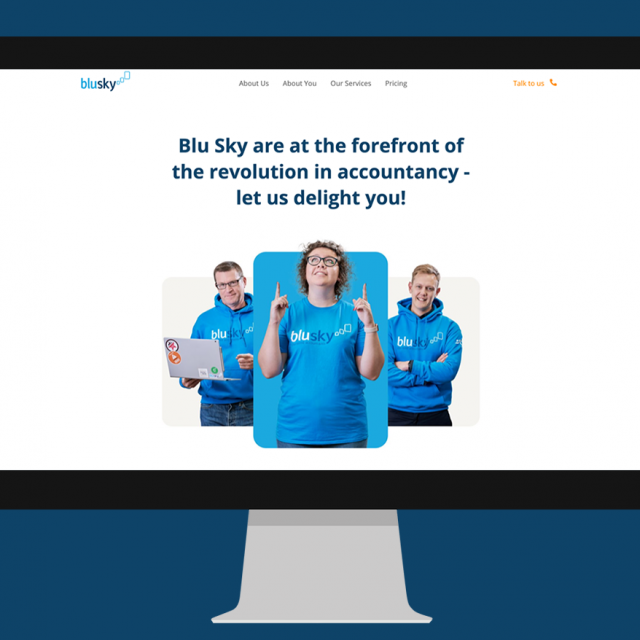 Blusky Website